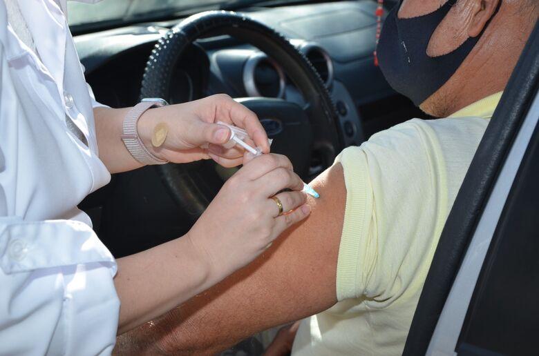 Vacina contra a Covid - Crédito: Divulgação