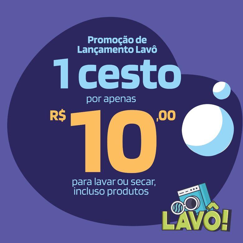 Lavô faz mega inauguração e promete um cheirinho de roupas limpas em São Carlos - Crédito: Divulgação