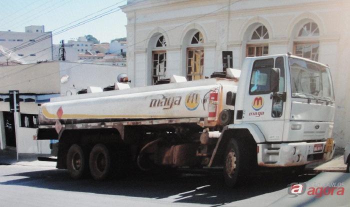 Caminhão com 13 mil litros de diesel foi recuperado pela DIG -