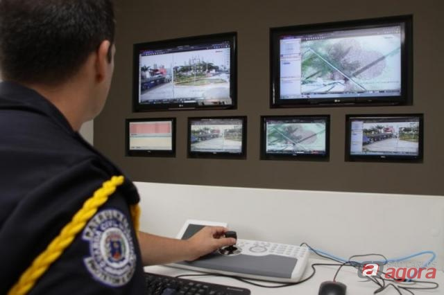 Monitoramento é feito pela Guarda Municipal (foto Daniel Barreto/Araraquara) -