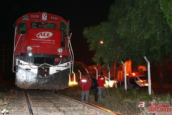 Linha férrea ao lado do CDHU já foi palco de vários acidentes (foto: arquivo) -
