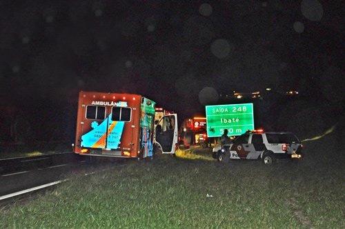 Local onde aconteceu o atropelamento (foto: Aconteceu Virou Notícia) -