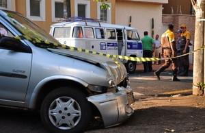 Colisão em Ribeirão Preto deixa uma pessoa morta (Foto: Jornalacidade.com.br) -