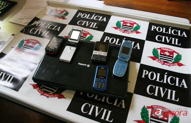 Produtos roubados que foram recuperados pela DIG. -