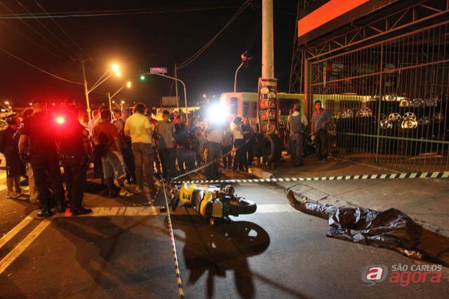 Vigilante é morto com 5 tiros em Araraquara (Foto: Araraquara.com) -