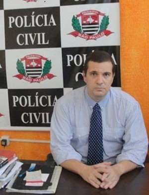 Delegado Rogério Fakani Vitta, diz que a morte de Z é Maria, causa um prejuízo nas investigações sobre a morte de Marcelo Sabatini de Souza. (foto: Noticentro) -