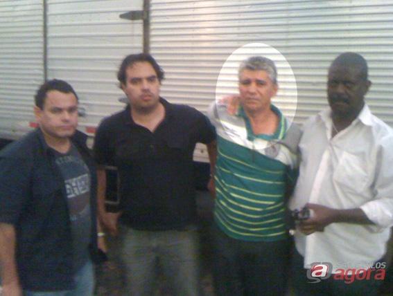 Acusado de tentar matar a mulher foi preso pelos policiais da DIG. Foto: Canal Rio Claro -