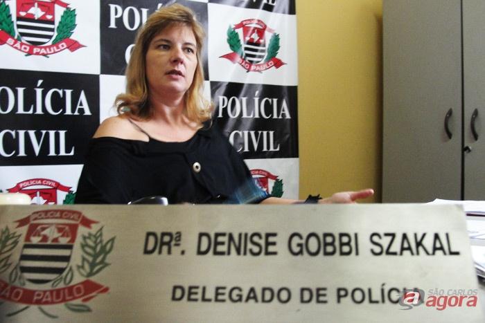 Delegada Denise Gobbi Szakal: mais um crime esclarecido pela DIG. -