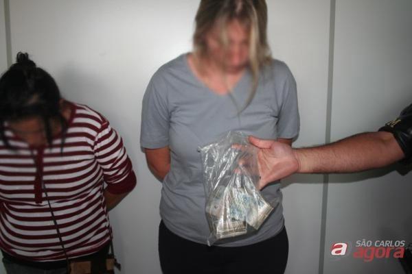 Em novembro as duas mulheres foram detidas pela Polícia Militar. -