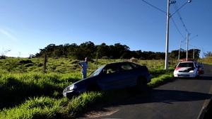 Local onde o Polo foi abandonado no Aracê de Santo Antônio. (Foto Luciano Lopes) -