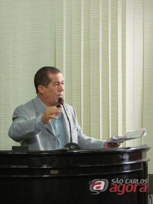 Projeto do vereador Freire, do PMDB é vetador pelo PT e PV. (Foto: Tiago da Mata / SCA) -