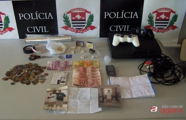 Policia Civil prende jovem em Araraquara por tráfico de drogas (Fotos: araraquara.com) -