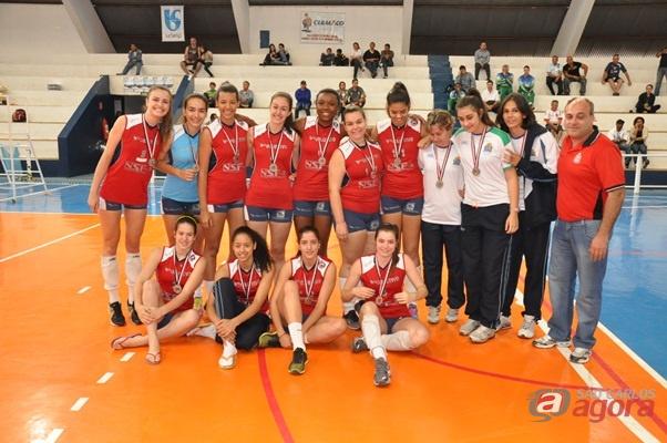 Vôlei de São Carlos é vice-campeão dos Jogos Olímpicos de Lins (Foto: Divulgação) -