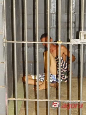 Acusado foi detido e encaminhado até a DDM. -