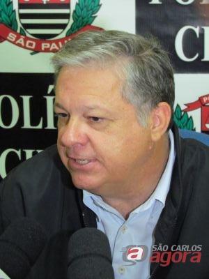 Edmundo Ferreira Gomes, delegado titular da DIG de São Carlos. (Foto: Tiago da Mata / SCA) -