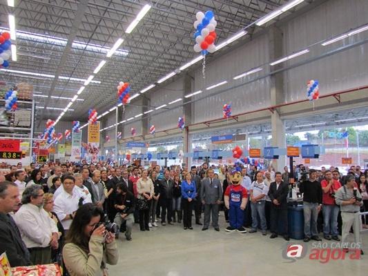 Tenda Atacado inaugura sua 17ª loja no Estado de São Paulo. (Foto: Tiago da Mata / SCA). -
