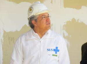 Alexandre Padilha, ministro da Saúde, durante visita ao Hospital Escola. (Fotos: Tiago da Mata / SCA) -