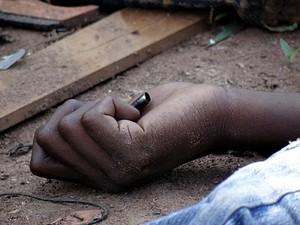 Mais dois corpos foram localizados após chachina no CDHU. (foto: Milton Rogério/SCA). -