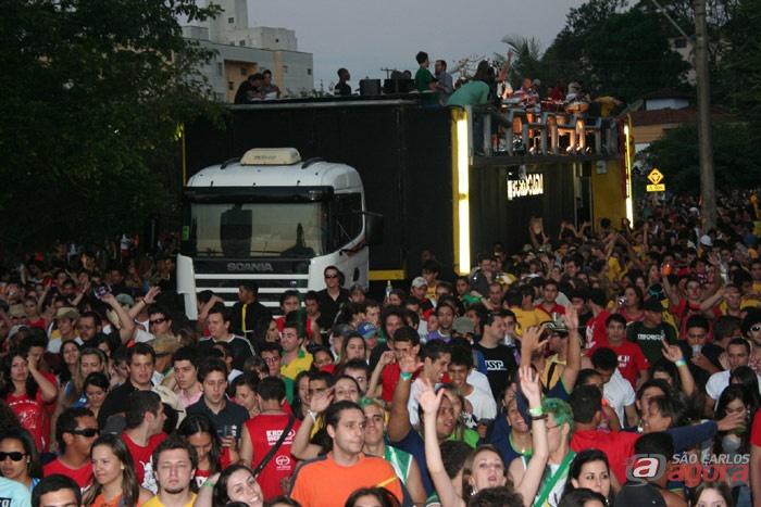 Nesta ano a festa vai acontecer sem o Corso, proibido pelo prefeito no ano passado. -