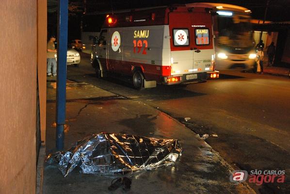Anselmo foi executado com vários tiros durante a madrugada (foto:  Vinicius Neo) -