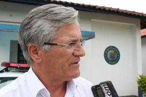 Capitão da Guarda Municipal, Luiz Tozzato. (Foto: Tiago da Mata / SCA) -