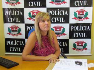 Delegada Denise Gobbi. (Foto: Tiago da Mata /SCA) -