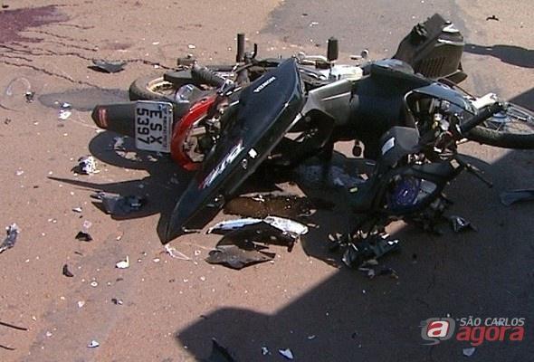 Motociclista morre após ser atingido por ônibus em Ribeirão Preto (Foto:jornalacidade.com.br) -
