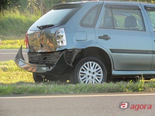 Acidente no Km 246. (Foto: Tiago da Mata / SCA) -