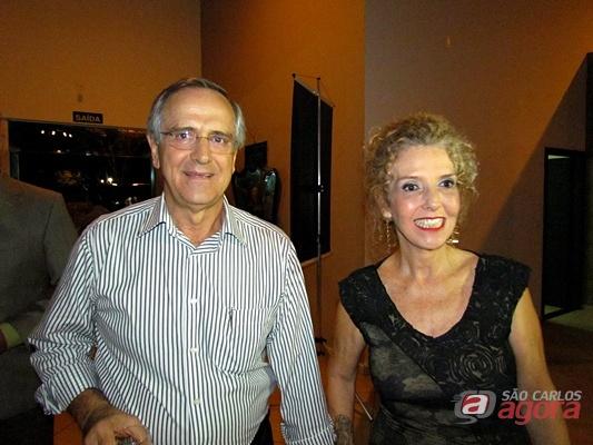 Paulo e Alice Altomani. (Foto: Tiago da Mata / SCA) -