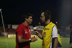 Baresi, técnico da base do São Paulo. (Foto: Tiago da Mata / SCA). -