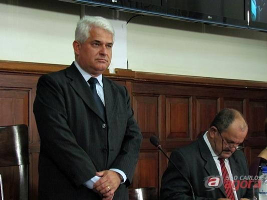 Marquinho Amaral, presidente da Câmara. (Foto: Tiago da Mata / SCA) -