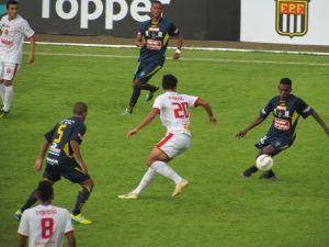 São Carlos perde para o União por 1 a 0. (Foto: Tiago da Mata / SCA) -