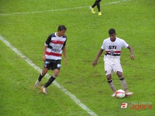 São Paulo 2 x 1 Santa Cruz (Foto: Tiago da Mata / SCA) -