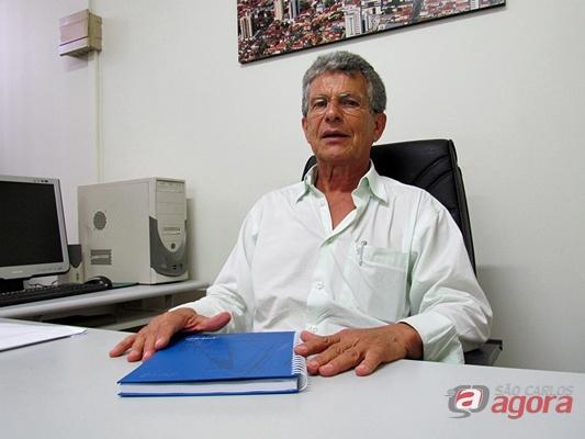 Sérgio Pepino, presidente do SAAE São Carlos. (Foto: Tiago da Mata /SCA) -