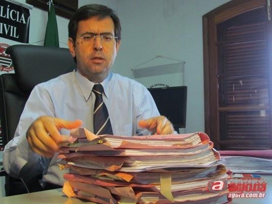 Delegado Mauricio Dotta. (Foto: Tiago da Mata / SCA) -