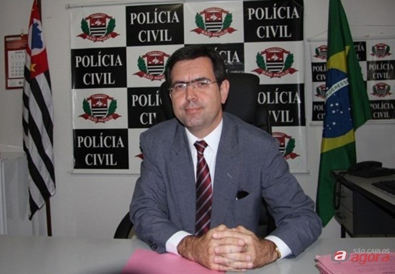 Delegado Mauricio Dotta e sua equipe conseguiram prender o vendedor que tentou extorquir o são-carlense. -