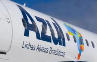 "O Aeroporto ""Bartholomeu de Gusmão"" terá voos comerciais da Azul a partir de novembro. -"