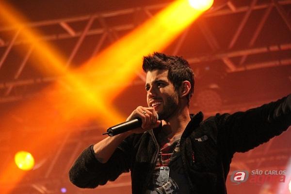 Show do Gusttavo Lima. (Foto: Tiago da Mata / SCA) -
