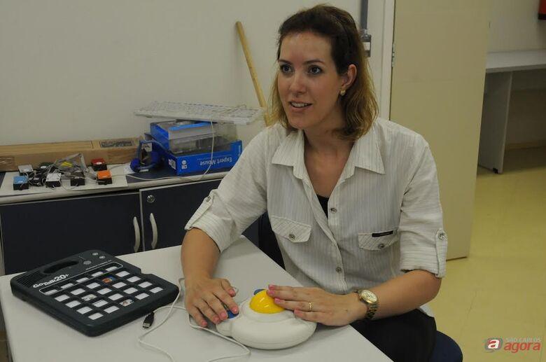 Professora Gerusa Ferreira Lourenço (Foto: Caio Rodrigues - CCS/UFSCar) -