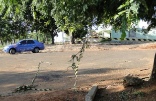 Rua onde a garota foi morta. (Araraquara.com) -