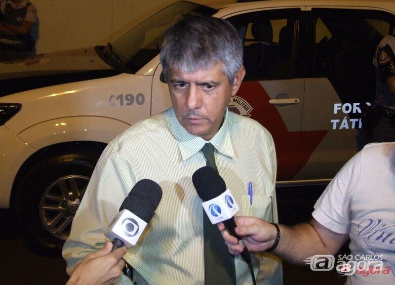 Delegado afirma que foi agredido por oficial da Rota. -