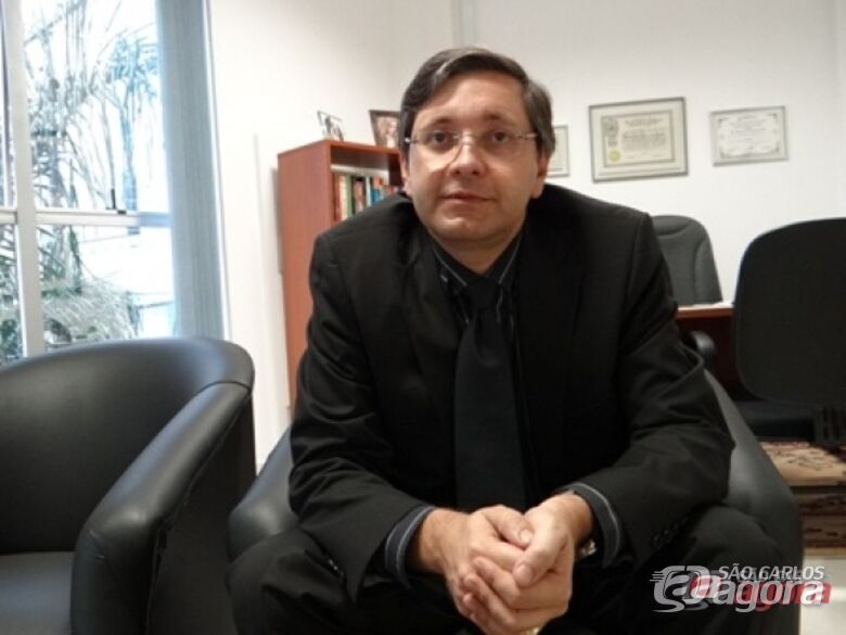 Promotor Mário José Correa de Paula, também atua na Vara da Infância e Juventuda. -