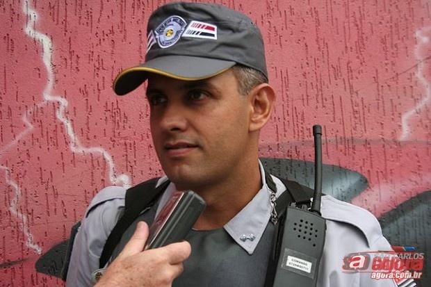 Capitão Nucci deve continuar trabalhando na região de São Carlos. -