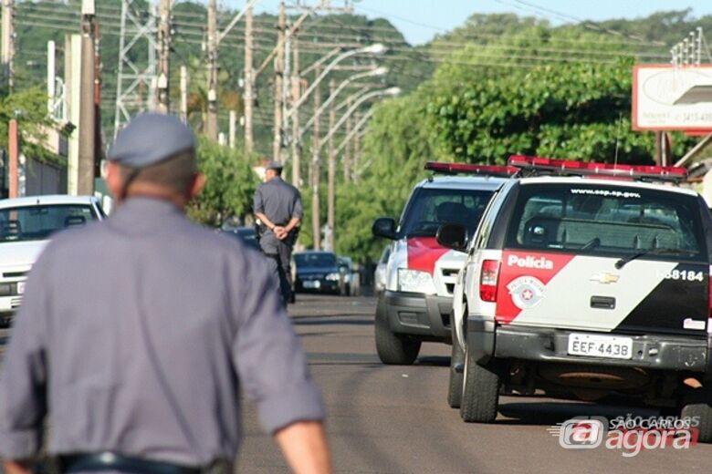 Dejem coloca mais policiais nas ruas de São Carlos. -