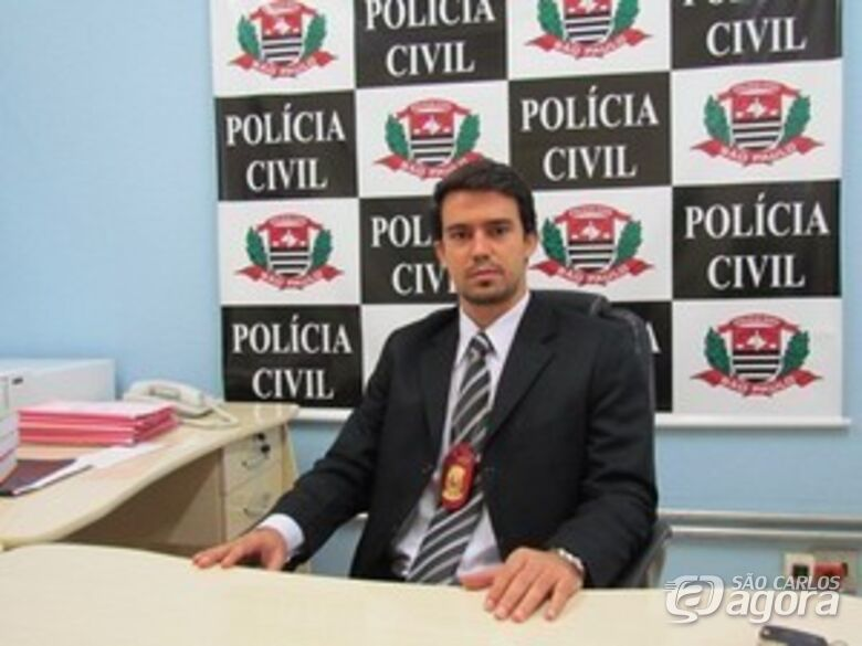 Wilton Gonçalves Garcia Filho, titular da delegacia de Ibaté. -