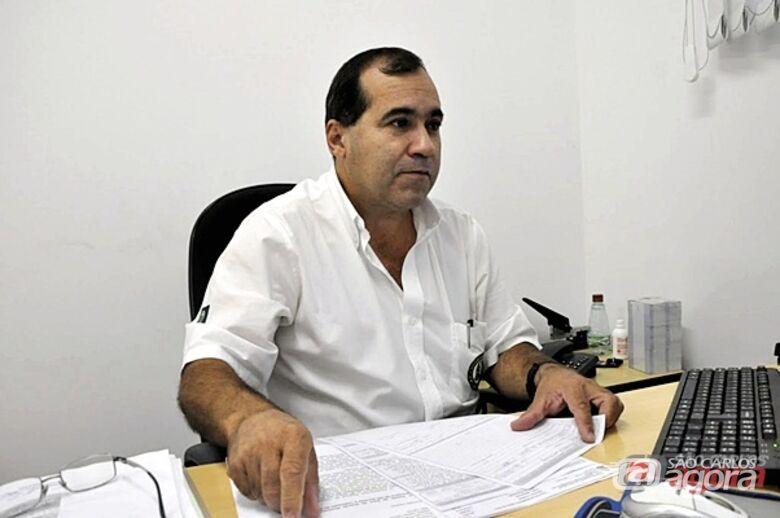 Coronel Jorge Luis Negreto, comandante da Guarda Municipal de São Carlos. -
