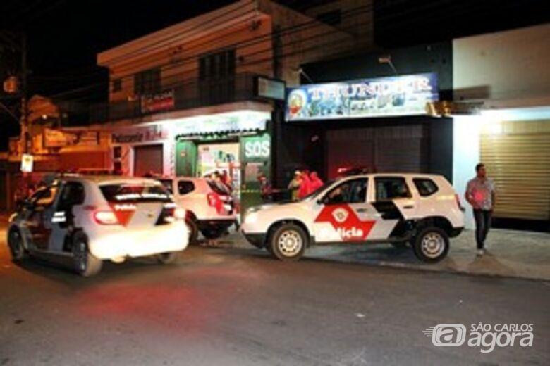 Jovem morreu assalto no Cruzeiro do Sul. (Foto Maycon Maximino) -