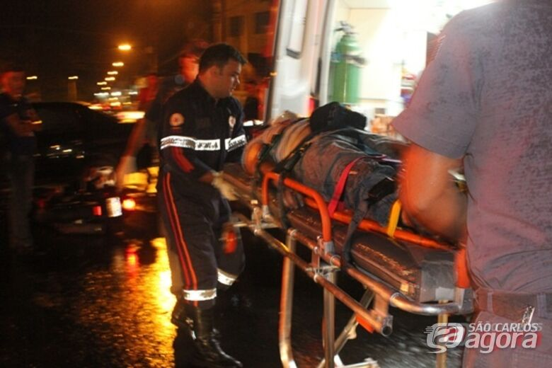 Motociclista não resistiu aos ferimentos após colisão no Santa Felícia. (Luciano Lopes). -