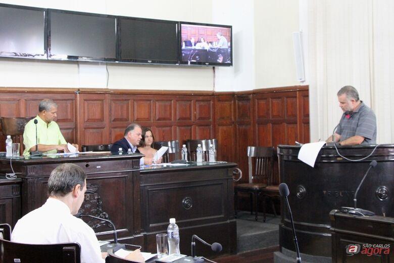 Audiência pública realizada nesta segunda-feira discutiu finanças municipais. (Assessoria de Imprensa CMSC) -