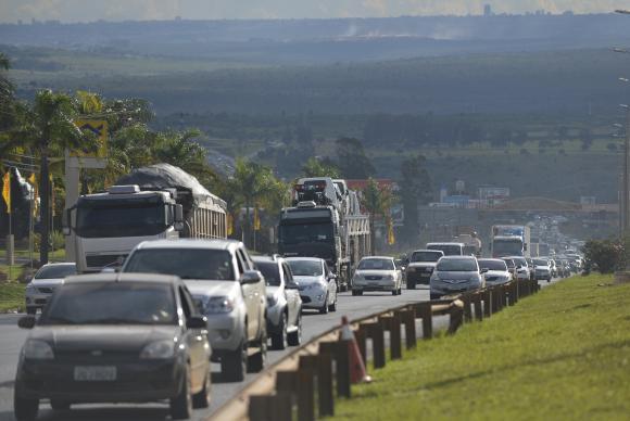 Operação Estrada em São Paulo começa às 14h, com o tráfego que deve se intensificar até as 22h em direção ao litoral e ao interior José Cruz/Agência Brasil -